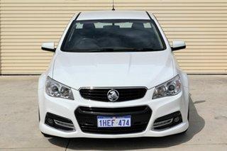 2014 Holden Ute VF MY14 SV6 Ute White 6 Speed Sports Automatic Utility.