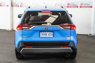 2019 Toyota RAV4 Axah54R Cruiser eFour Eclectic Blue 6 Speed Constant Variable Wagon Hybrid