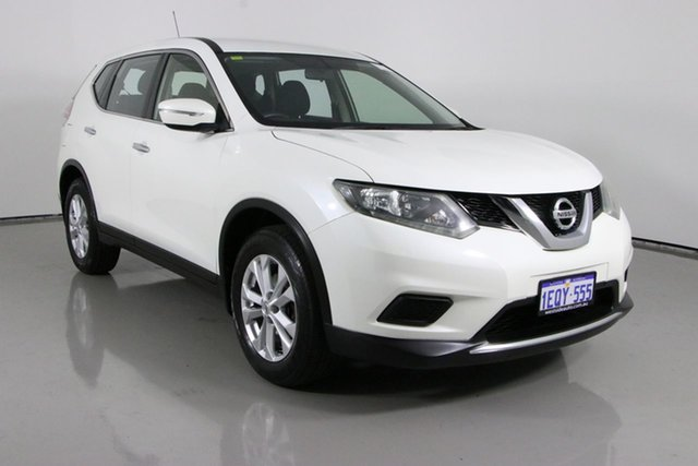 Used Nissan X-Trail T32 ST (4x4) Bentley, 2015 Nissan X-Trail T32 ST (4x4) White Continuous Variable Wagon