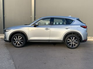 2021 Mazda CX-5 KF4WLA GT SKYACTIV-Drive i-ACTIV AWD Sonic Silver 6 Speed Sports Automatic Wagon.