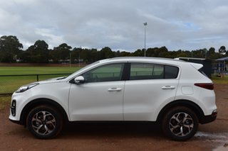 2021 Kia Sportage QL MY21 S 2WD Clear White 6 Speed Sports Automatic Wagon