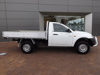 2007 Mitsubishi Triton ML MY07 GL 4x2 White 5 Speed Manual Cab Chassis
