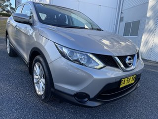 2017 Nissan Qashqai J11 ST Silver 6 Speed Manual Wagon