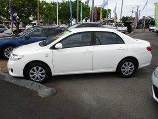 2007 Toyota Corolla White 4 Speed Automatic Sedan
