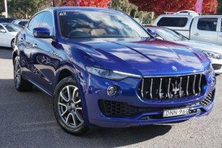 2017 Maserati Levante M161 MY17 Q4 Blue 8 Speed Sports Automatic Wagon.