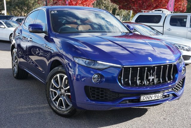 Used Maserati Levante M161 MY17 Q4 Phillip, 2017 Maserati Levante M161 MY17 Q4 Blue 8 Speed Sports Automatic Wagon