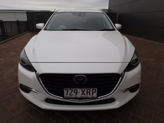 2017 Mazda 3 BN5238 SP25 SKYACTIV-Drive Astina Snowflake White 6 Speed Sports Automatic Sedan
