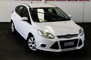 2013 Ford Focus LW MK2 Ambiente White 6 Speed Automatic Hatchback.