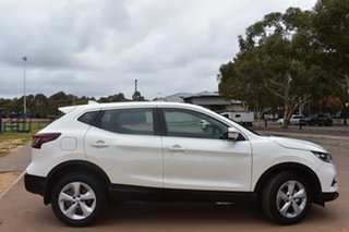 2020 Nissan Qashqai J11 Series 3 MY20 ST X-tronic Ivory Pearl 1 Speed Constant Variable Wagon.