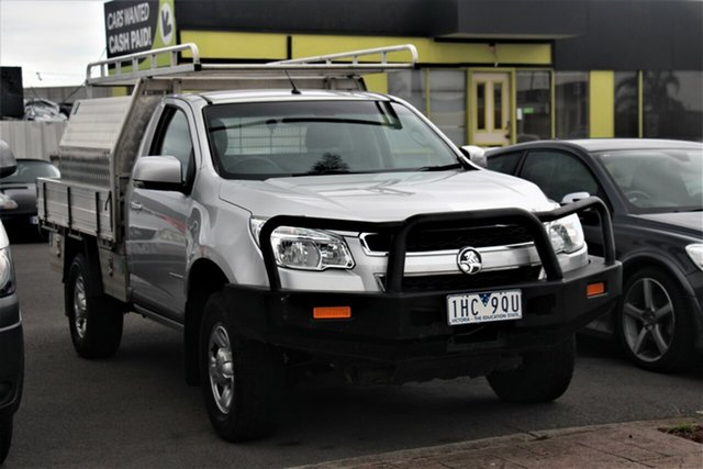 Used Holden Colorado RG MY17 LS 4x2 Cheltenham, 2016 Holden Colorado RG MY17 LS 4x2 Silver 6 Speed Sports Automatic Cab Chassis
