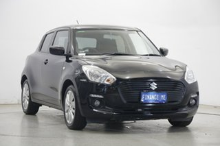 2019 Suzuki Swift AZ GL Navigator Black 1 Speed Constant Variable Hatchback