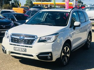 2016 Subaru Forester S4 MY16 2.5i-L CVT AWD Special Edition White 6 Speed Constant Variable Wagon.