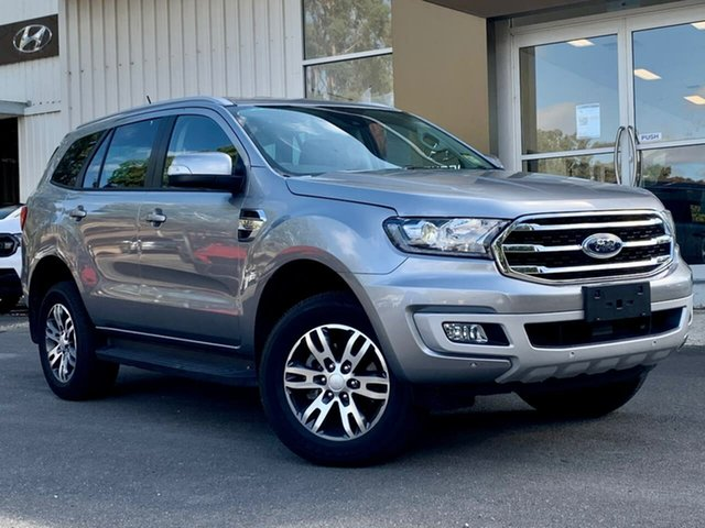 Used Ford Everest UA II 2019.75MY Trend Clare, 2019 Ford Everest UA II 2019.75MY Trend Silver 6 Speed Sports Automatic SUV