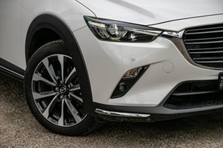 2018 Mazda CX-3 DK2W7A sTouring SKYACTIV-Drive FWD Snowflake White Pearl 6 Speed Sports Automatic.