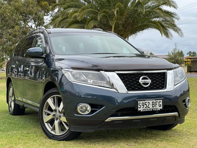 Used Nissan Pathfinder R52 MY15 Ti X-tronic 2WD Cheltenham, 2015 Nissan Pathfinder R52 MY15 Ti X-tronic 2WD Blue 1 Speed Constant Variable Wagon