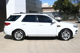 2012 Ford Territory SZ TS Seq Sport Shift White 6 Speed Sports Automatic Wagon.