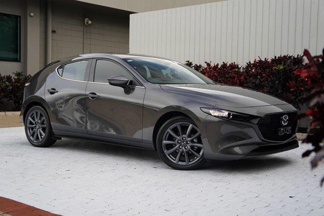 Used Mazda 3 BP2H7A G20 SKYACTIV-Drive Evolve Cairns, 2020 Mazda 3 BP2H7A G20 SKYACTIV-Drive Evolve Grey 6 Speed Sports Automatic Hatchback