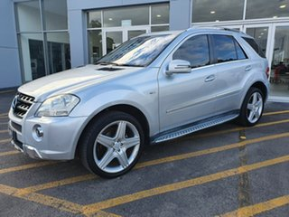 2010 Mercedes-Benz M-Class W164 MY10 ML350 AMG Sports Silver 7 Speed Sports Automatic Wagon