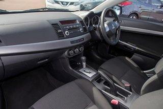 2009 Mitsubishi Lancer CJ MY09 ES Silver 6 Speed Constant Variable Sedan