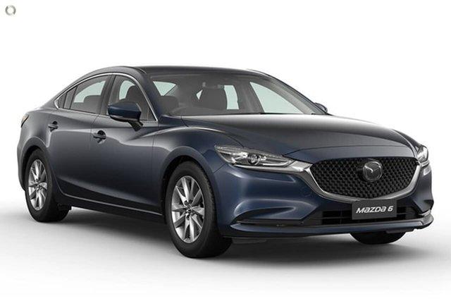 New Mazda 6 GL1033 Sport SKYACTIV-Drive Waitara, 2021 Mazda 6 GL1033 Sport SKYACTIV-Drive Blue 6 Speed Sports Automatic Sedan