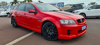 2010 Holden Commodore VE II SV6 Sportwagon Red 6 Speed Sports Automatic Wagon.