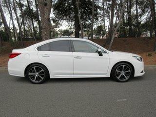 2015 Subaru Liberty B6 MY15 3.6R CVT AWD White 6 Speed Constant Variable Sedan.