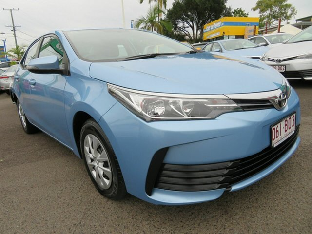 Used Toyota Corolla ZRE172R Ascent S-CVT Mount Gravatt, 2018 Toyota Corolla ZRE172R Ascent S-CVT Blue 7 Speed Constant Variable Sedan