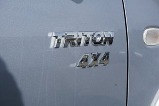2012 Mitsubishi Triton MN MY12 GLX-R Double Cab Silver 5 Speed Sports Automatic Utility