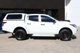 2015 Mitsubishi Triton MN MY15 GLX Double Cab 4x2 White 5 Speed Manual Utility.