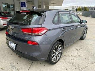 2017 Hyundai i30 PD MY18 Elite D-CT Grey 7 Speed Sports Automatic Dual Clutch Hatchback