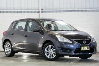 2016 Nissan Pulsar C12 Series 2 ST Grey 1 Speed Constant Variable Hatchback.