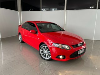 2014 Ford Falcon FG MkII XR6 EcoLPi Red 6 Speed Sports Automatic Sedan.