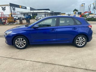 2019 Hyundai i30 PD2 MY19 Active Blue/300419 6 Speed Sports Automatic Hatchback