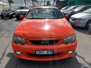 2004 Ford Falcon BA MkII XR6 Orange 4 Speed Auto Seq Sportshift Utility