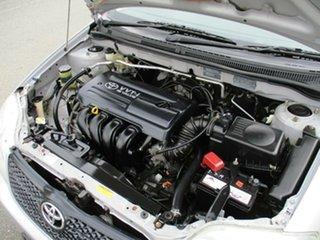 2003 Toyota Corolla ZZE122R Ascent Silver 4 Speed Automatic Sedan