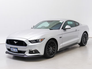 2017 Ford Mustang FM MY17 Fastback GT 5.0 V8 Silver 6 Speed Automatic Coupe.