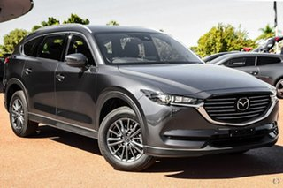 2021 Mazda CX-8 KG2WLA Touring SKYACTIV-Drive FWD Grey 6 Speed Sports Automatic Wagon.