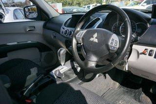 2012 Mitsubishi Triton MN MY12 GLX-R Double Cab Silver 5 Speed Sports Automatic Utility