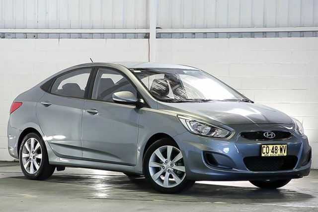 Used Hyundai Accent RB6 MY18 Sport West Gosford, 2017 Hyundai Accent RB6 MY18 Sport Silver 6 Speed Sports Automatic Sedan