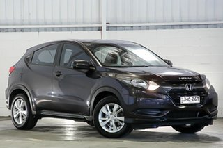 2016 Honda HR-V MY16 VTi Black 1 Speed Constant Variable Hatchback.