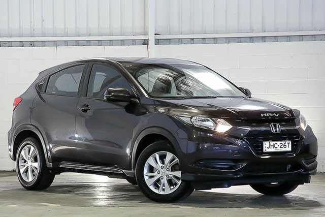 Used Honda HR-V MY16 VTi West Gosford, 2016 Honda HR-V MY16 VTi Black 1 Speed Constant Variable Hatchback
