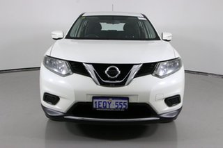 2015 Nissan X-Trail T32 ST (4x4) White Continuous Variable Wagon.