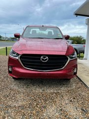 2021 Mazda BT-50 XT Red Volcano 6 Speed Automatic Spacecab.