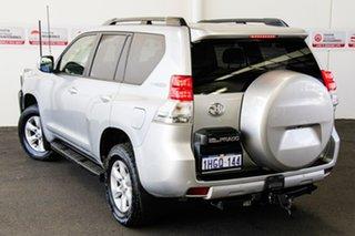2013 Toyota Landcruiser Prado KDJ150R 11 Upgrade Altitude (4x4) Silver Pearl 5 Speed Sequential Auto