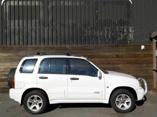 2001 Suzuki Grand Vitara SQ625 S2 Sport White 5 Speed Manual Wagon.