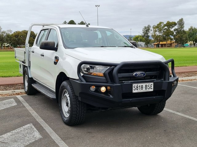 Used Ford Ranger PX MkII XL Plus Nailsworth, 2016 Ford Ranger PX MkII XL Plus White 6 Speed Sports Automatic Cab Chassis