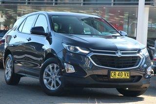 2018 Holden Equinox EQ MY18 LS Plus (FWD) Blue 6 Speed Automatic Wagon.