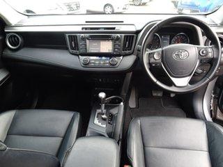 2017 Toyota RAV4 ASA44R Cruiser AWD Silver 6 Speed Sports Automatic Wagon