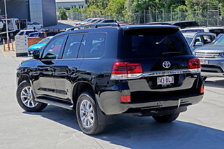 2019 Toyota Landcruiser VDJ200R VX Black 6 Speed Sports Automatic Wagon.