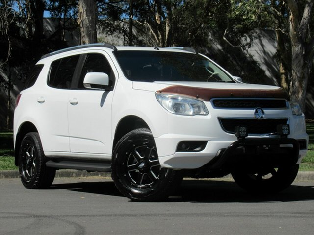 Used Holden Colorado 7 RG MY16 LT, 2015 Holden Colorado 7 RG MY16 LT White 6 Speed Sports Automatic Wagon